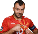 Goran Pandev football render