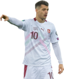 Granit Xhaka football render
