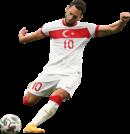 Hakan Calhanoglu football render