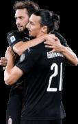 Hakan Calhanoglu & Zlatan Ibrahimovic football render
