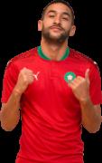 Hakim Ziyech football render