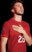 Halil Dervisoglu football render