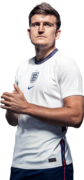 Harry Maguire football render