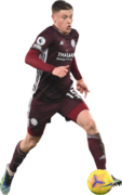 Harvey Barnes football render