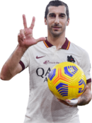 Henrikh Mkhitaryan football render