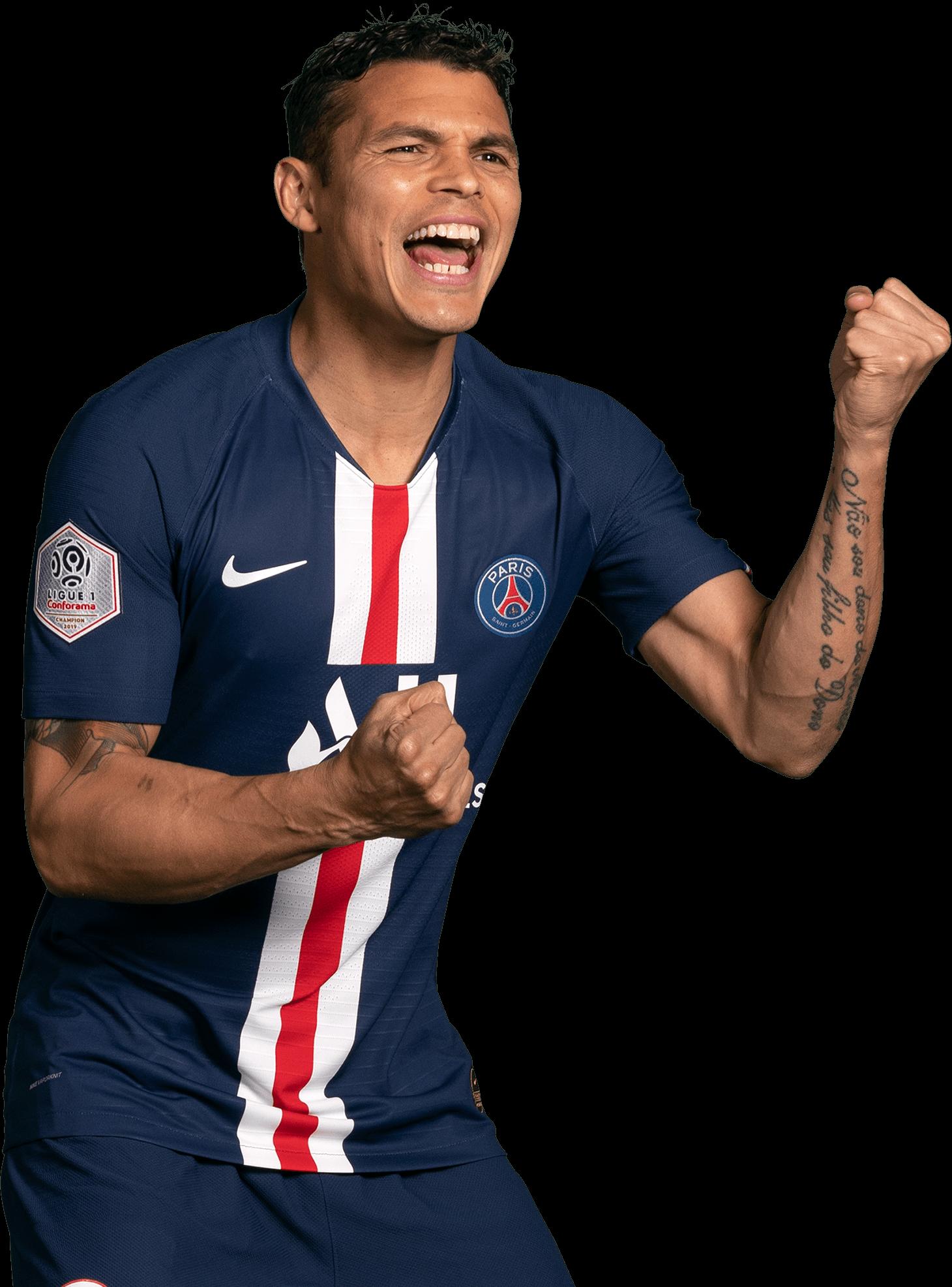 Thiago Silva football render - 55147 - FootyRenders