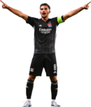 Houssem Aouar football render