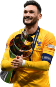 Hugo Lloris football render