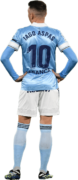 Iago Aspas football render