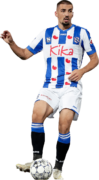 Ibrahim Dresevic football render