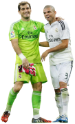 Iker Casillas & Pepe