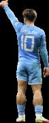 Jack Grealish football render