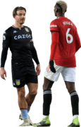 Jack Grealish & Paul Pogba football render