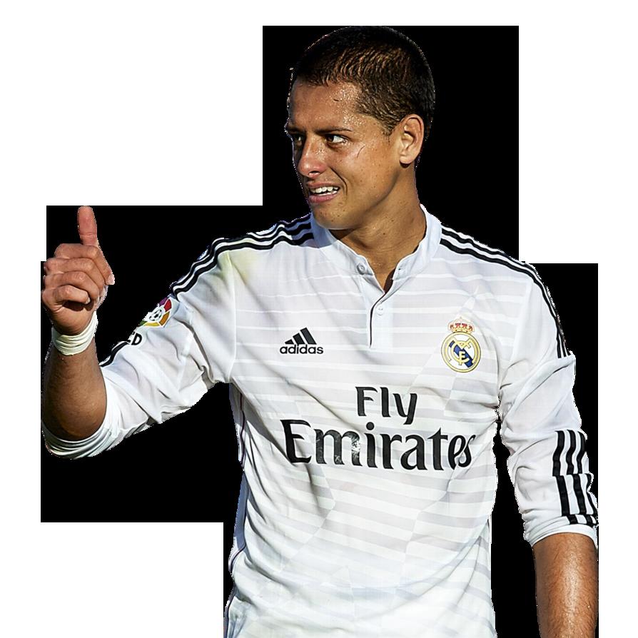 """Javier Hernandez Real Madrid: Javier """"Chicharito"""" Hernandez Football Render"""