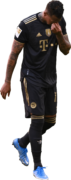 Jerome Boateng football render