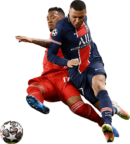 Jerome Boateng & Kylian Mbappé football render