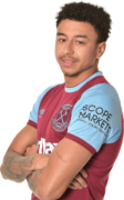 Jesse Lingard football render