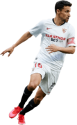 Jesus Navas football render