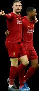 Jordan Henderson & Georginio Wijnaldum football render