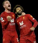 Jordan Henderson & Mohamed Salah football render