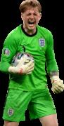 Jordan Pickford football render