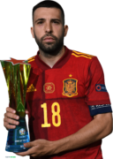 Jordi Alba football render