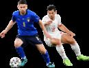 Jorginho & Remo Freuler football render