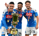 José Callejón, Lorenzo Insigne & Dries Mertens football render