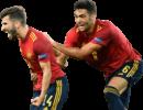 José Gayà & Mikel Merino football render
