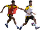 Jude Bellingham & Jadon Sancho football render