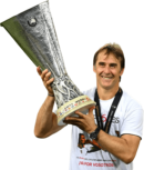 Julen Lopetegui football render