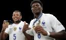 Jules Koundé & Aurélien Tchouaméni football render