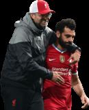 Jürgen Klopp & Mohamed Salah football render