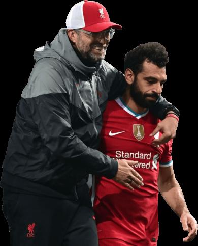 Jürgen Klopp & Mohamed Salah