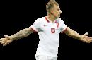 Kamil Grosicki football render