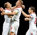 Kamil Grosicki, Kamil Glik & Piotr Zieliński football render