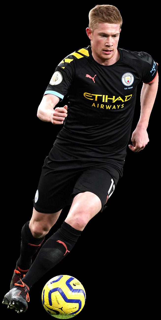 Kevin De Bruyne football render - 65804 - FootyRenders