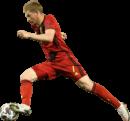 Kevin De Bruyne football render