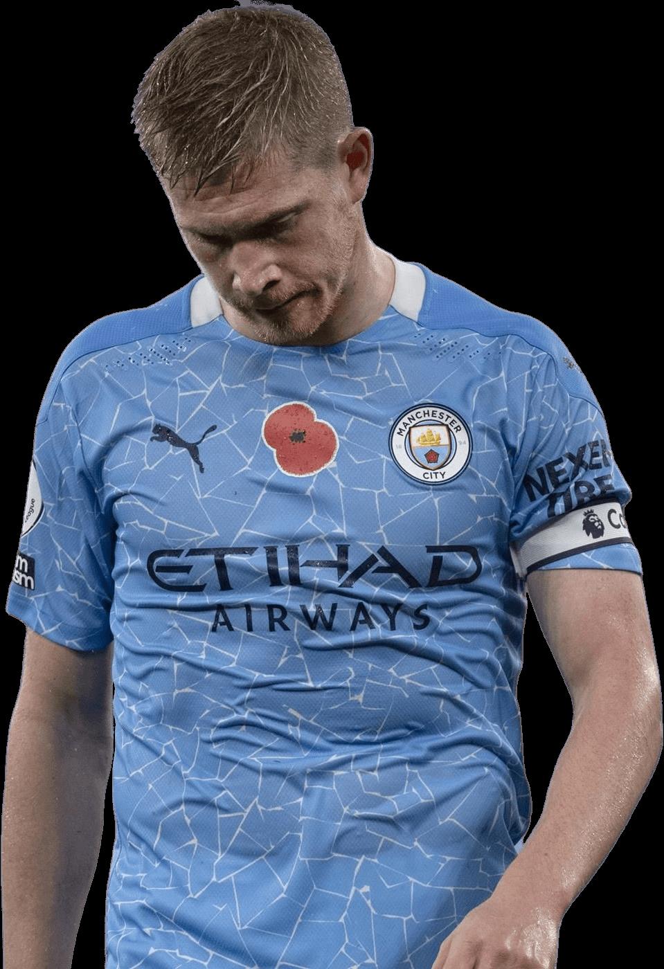 Kevin De Bruyne football render - 73358 - FootyRenders