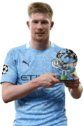 Kevin De Bruyne football render