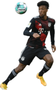 Kingsley Coman football render