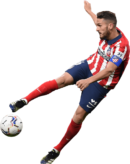 Koke football render