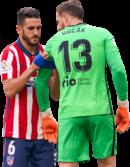 Koke & Jan Oblak football render