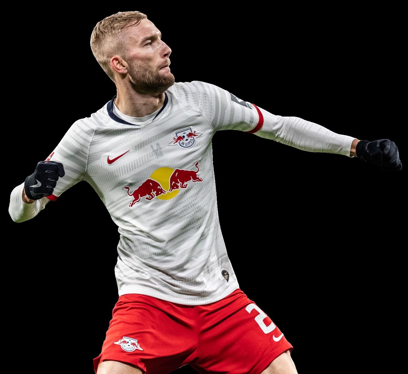 Konrad Laimer football render - 62357 - FootyRenders