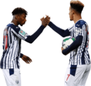 Kyle Edwards & Callum Robinson football render