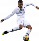 Kylian Mbappé football render