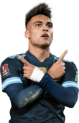 Lautaro Martinez football render