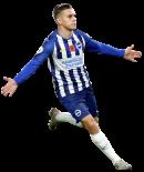 Leandro Trossard football render