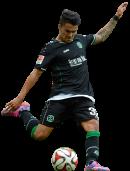 Leonardo Bittencourt football render