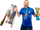 Leonardo Bonucci football render